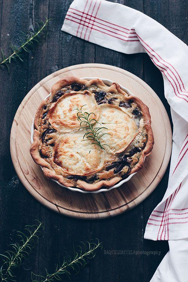 Raquel's Kitchen: Tarta de Cebolla Caramelizada y Queso de Cabra