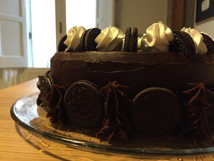 Double chocolate cake e Oreo.