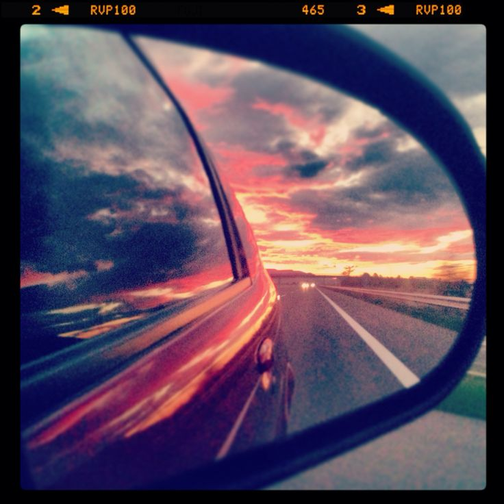 Traveling at the sunrise!