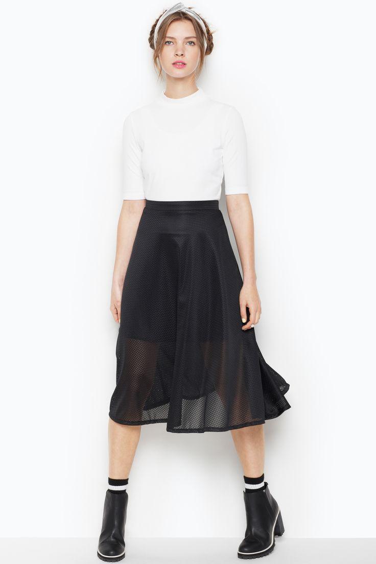 Monki | Sale dresses & skirts | Jonna mesh skirt