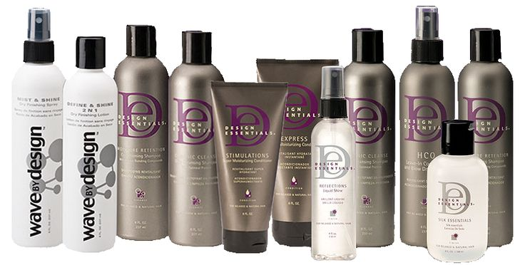 design essentials hair products   Product Lines