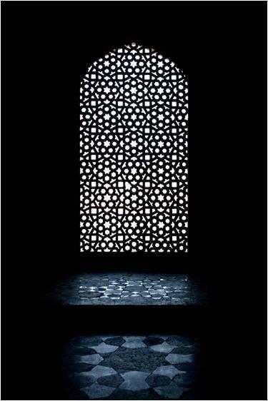 Arabic window Spain