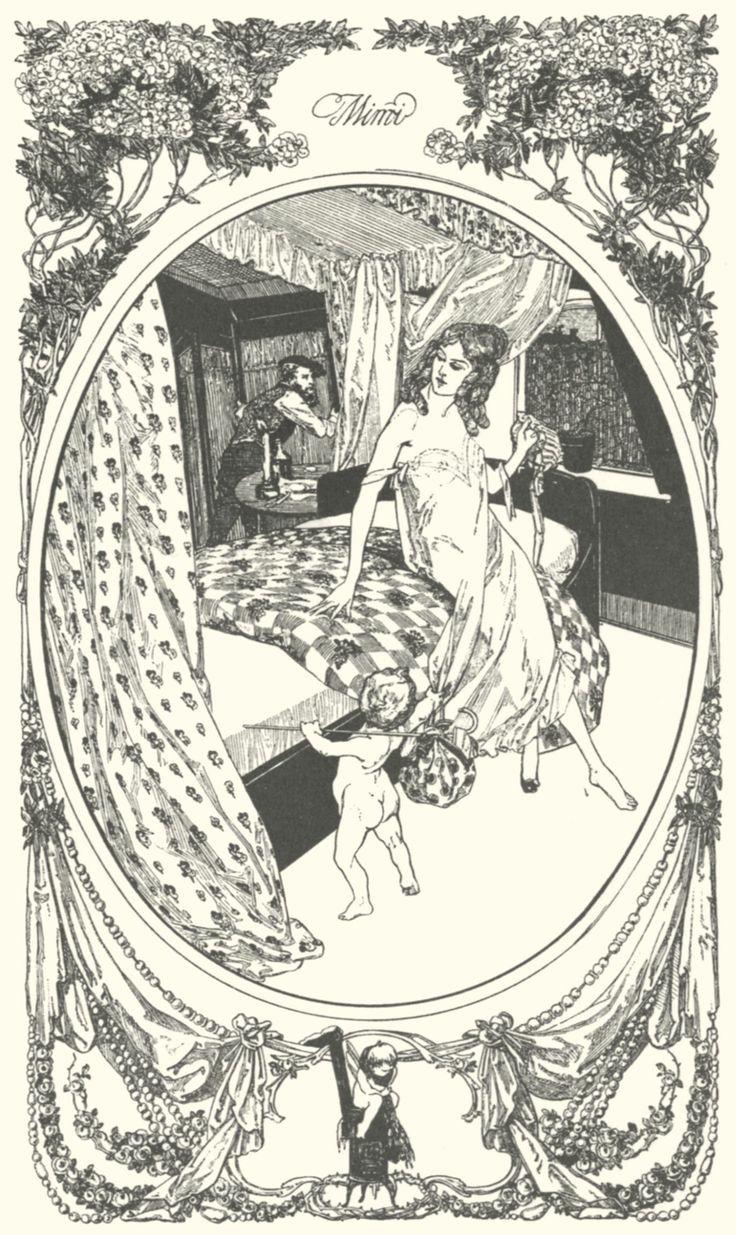 Эротическая графика в книгах