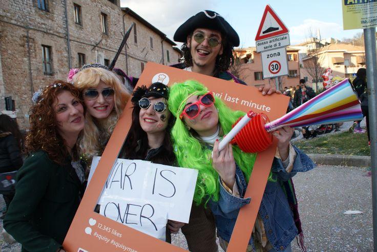 Stiamo arrivandooo... SQUISY.IT al Carnevale dei Ragazzi 2014 di Sant'Eraclio a Foligno (PG) per annunciare tante novità! SCARICA LA APP e scoprirai le nostre destinazioni! #squisy #squisymangilastminute #umbria #foligno #spoleto #perugia