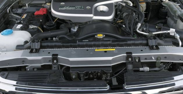2018 Nissan Patrol Engine