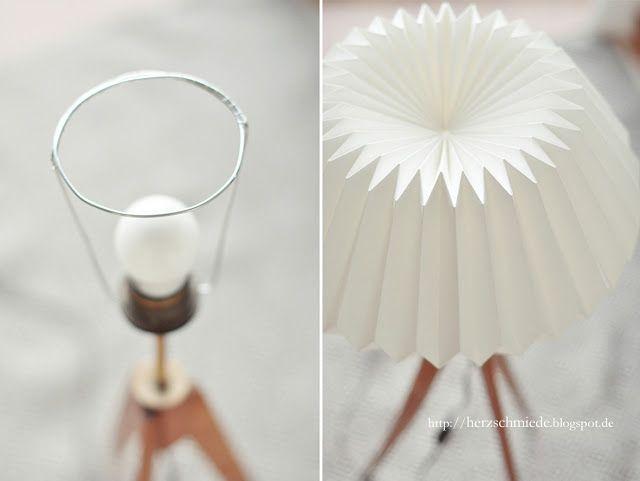 Origami para la creación de pantallas de luz. Super ingenioso y chic!