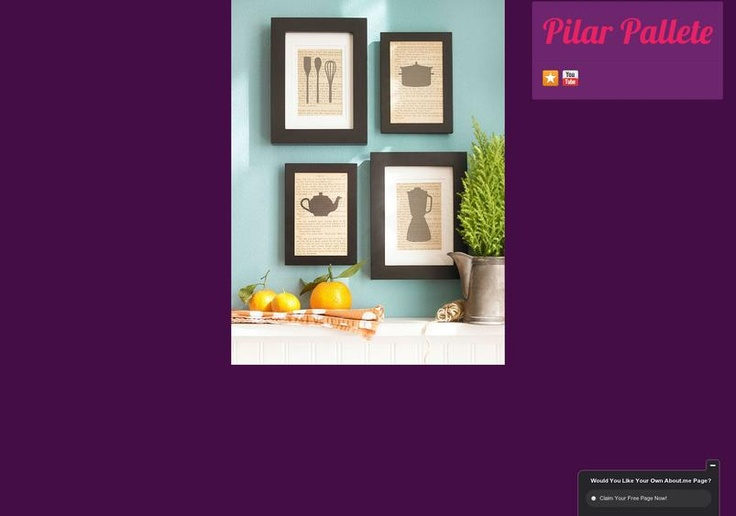 Pilar Pallete's page on about.me – http://about.me/pilarpallete