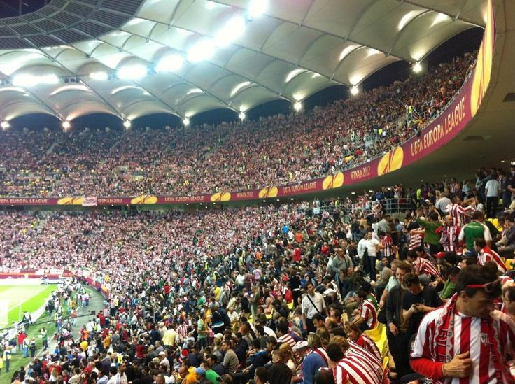 Arena Nationala asteapta meciul Athletico Madrid - Athletic Bilbao Finala UEFA Europa League
