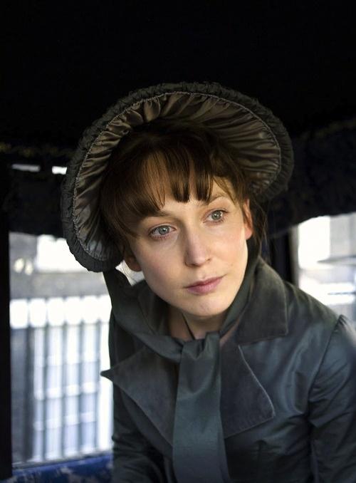 Hattie Morahan, Elinor Dashwood - Sense & Sensibility directed by John Alexander (TV Mini-Series, BBC, 2008) #janeausten