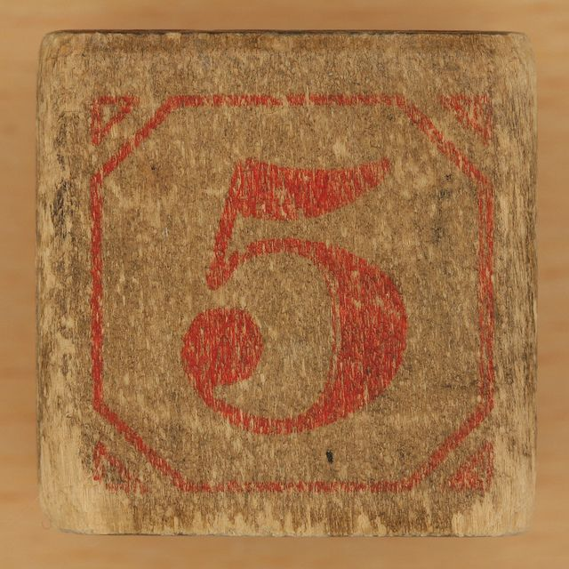 5 is my favorite number.
