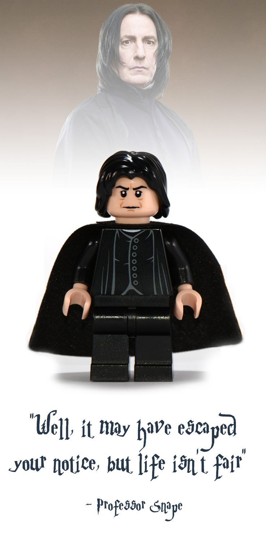 Professor Snape Lego Minifigure - Harry Potter Collectibles