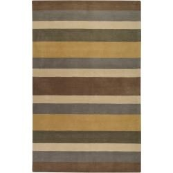 Hand Crafted Kamas  Wool Rug (8' x 11'): Living Rooms, Gray Esopo, Esopo Wool, Crafts Kama, Interiors Design, Hands Crafts Multi, Hands Crafts Gray, Kama Wool, Bedrooms Area Rugs