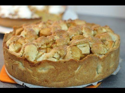 Recette de la tarte aux pommes caram lis es ou apple pie for Cuisine americaine film youtube