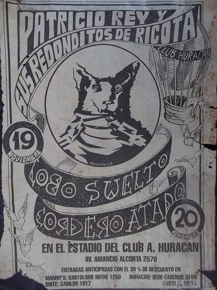 ESTADIO DE HURACAN - VIERNES 19/11/1993