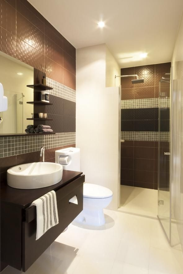 25 small bathroom design and remodeling ideas maximizing small spaces - Diseo Baos Pequeos