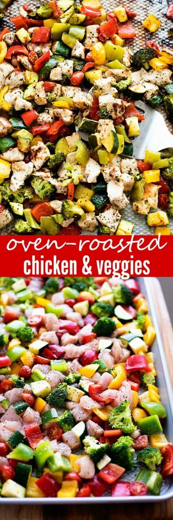 My go-to dish for a super yummy and healthy dinner! Ready in 30 minutes or less