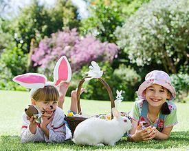DNJ Ltda. Antofagasta, Confites para eventos especiales, Pascua de Resurreción, Conejito huevitos de chocolate