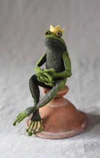 Cynthia Treen Studio Frog Prince - Downloadable Pattern