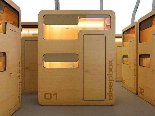 Sleep box- wherever you are, keep you mind rested | http://www.designrulz.com/architecture/2010/12/14685/