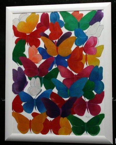 Pintura com lápis de cor