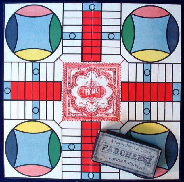 My cousins and I played Parcheesi by the hour when our folks got together for a jam session.