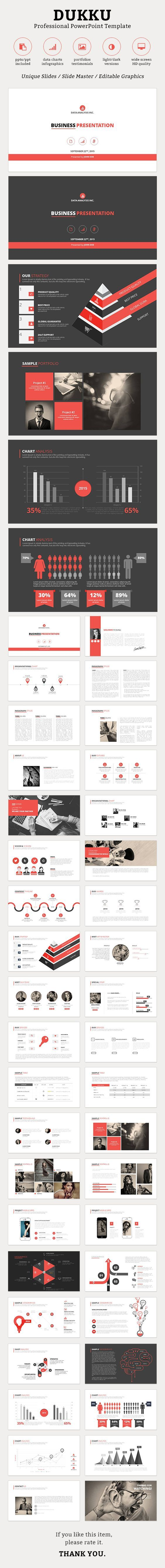 Dukku PowerPoint Template #design #slides Download: http://graphicriver.net/item/dukku-powerpoint-template/13057919?ref=ksioks: