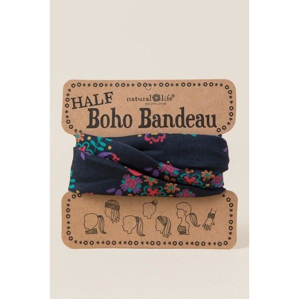 Boho Bandeau by Natural Life in Black Floral - Black ($12) ❤ liked on Polyvore featuring accessories, scarves, black, bohemian scarves, wrap scarves, bohemian shawl, floral print scarves and wrap shawl