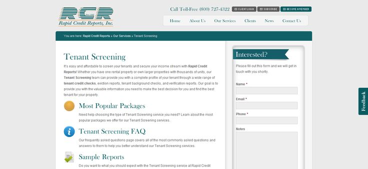 tenant background check, tenant screening --> www.rapidcreditreports.com/our-services/tenant-screening