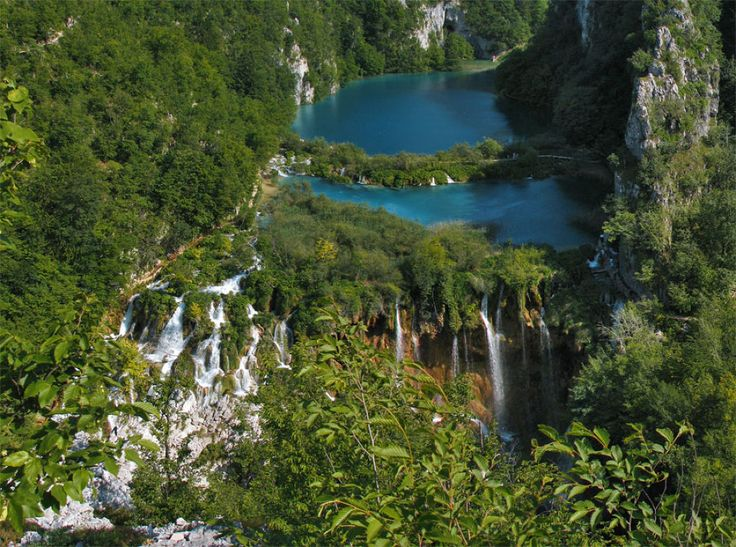 Plitvice lakes by korana