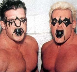 The Blade Runners...aka The Ultimate Warrior & Sting