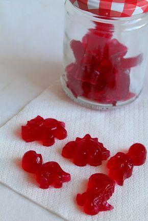 Gominolas de sandía sin azúcar
