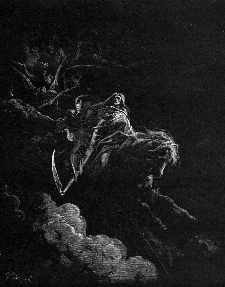Gustave Dore - Death On A Pale Horse