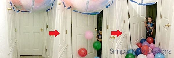 Balloon Avalanche - great for birthdays, retirement or any special occasion