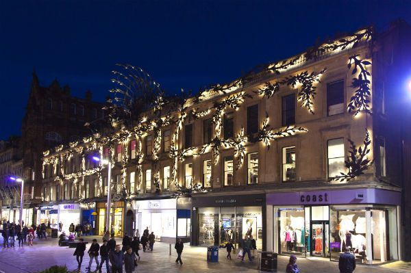 Prince's Square in Glasgow looks like a shoppers paradise