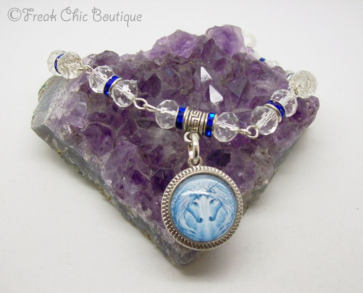 Tree of Life Charm Friendship Bracelet with Amethyst Pagan Wicca Jewellery Gift