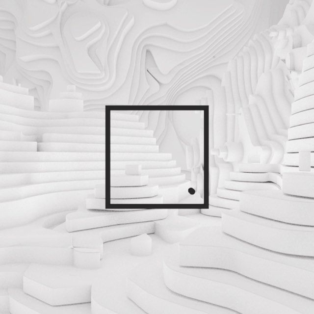 Space_Paper #c4d #render #noctane #daily #inspiration #design #white #color #paper #logo