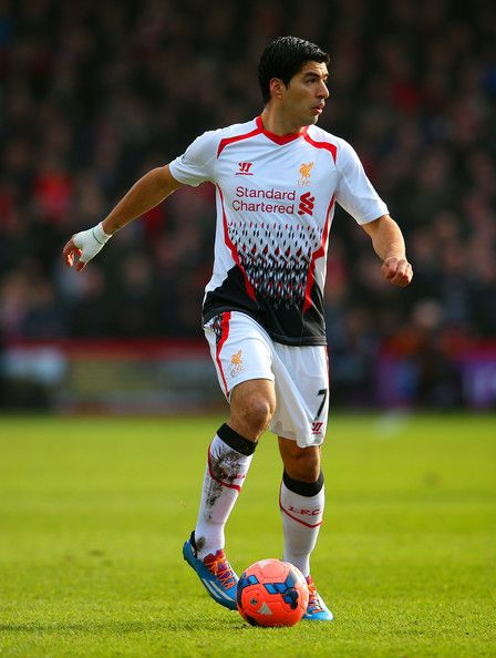 The Premier League's leading goalscorer, Luis Suarez of Liverpool FC.