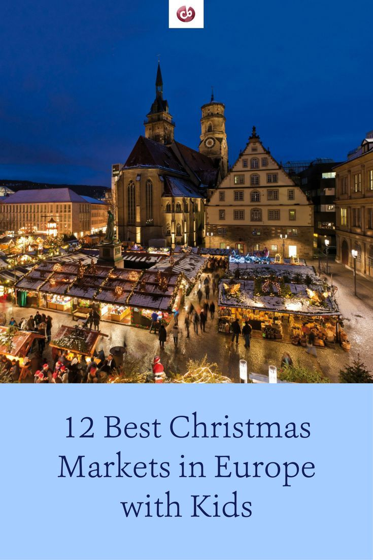 12 Best Christmas Markets in Europe with Kids