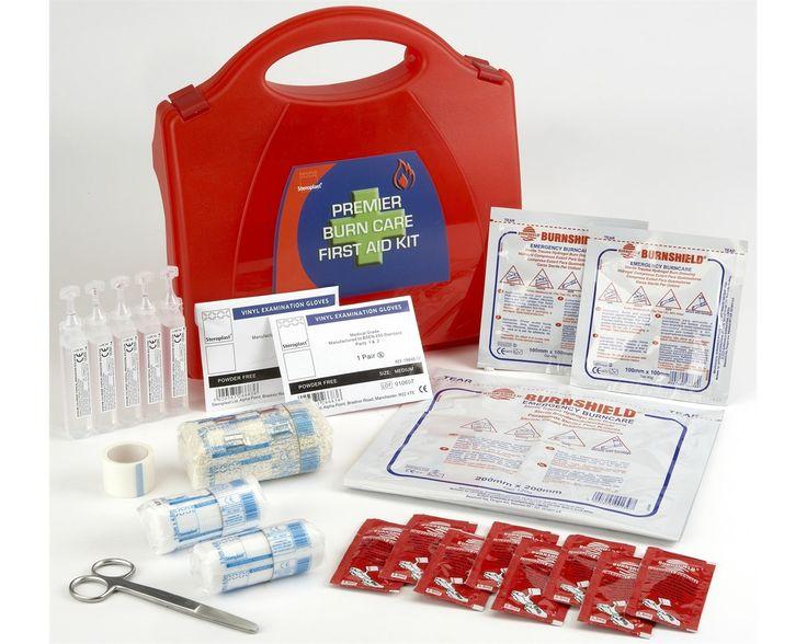 Steroplast Premier Burns Kit provides fast effective #FirstAid treatment for burns, scalds & sunburn