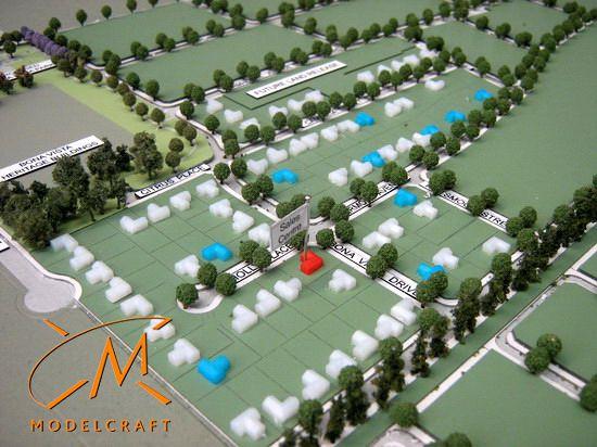 1:2000 Architectural Model by Modelcraft (NSW) Pty Ltd