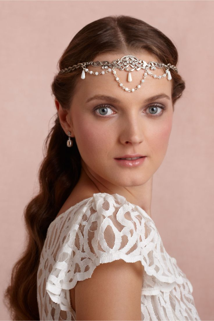 Guinevere Tiara in SHOP The Bride Veils & Headpieces at BHLDN