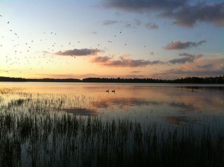 Lake Kyrösjärvi, Ikaalinen Finland