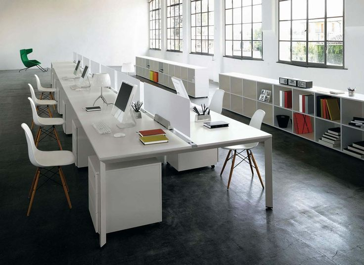 stylish modern modular office furniture design. Office Workspace. Stylish Long Design Desk With Harmonious White Theme Chairs Set On Dark Modern Modular Furniture T
