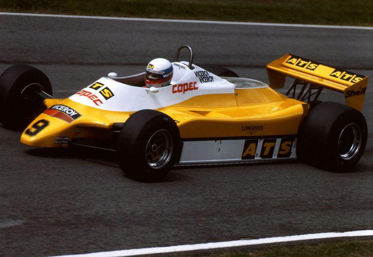 1982 GP Wielkiej Brytanii (Manfred Winkelhock) ATS D5 - Ford