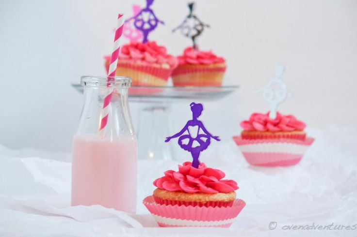 Strawberry Milk Cupcakes Recipe and a Giveaway