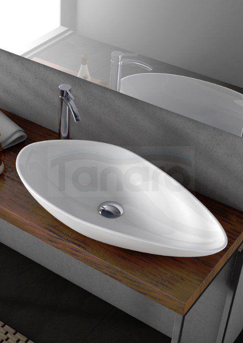 CeraStyle - Umywalka nablatowa OLIVE ceramiczna - Umywalki - Ceramika Sanitarna - Sklep internetowy TANARO.PL