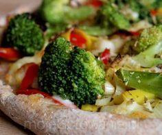 Zdrowa pizza z brokułami