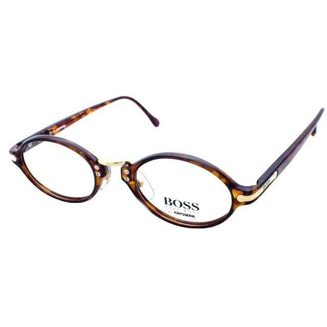 Eyeglass Frames On Consignment : Boss Vintage Oval Tortoise Shell Frames Products ...