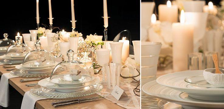 Table mariage Lumière opaline -  scénographie Carine Pinon, photo Alexis Boullay