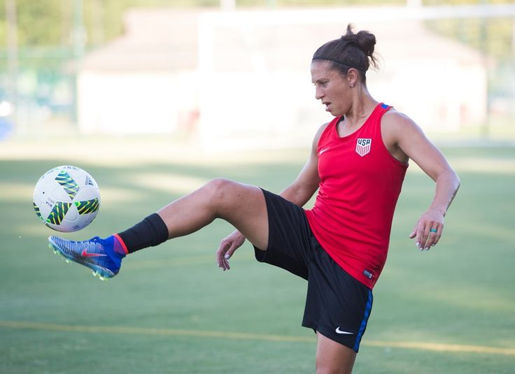 WNT Trains Ahead Final Olympic Games Send-Off Match Against Costa Rica - U.S. Soccer